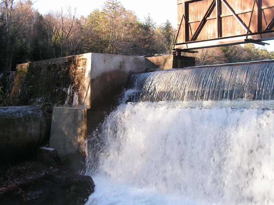 Repaired Dam