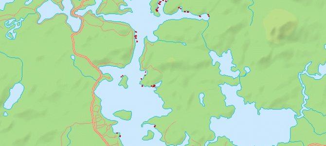 milfoil map 2013 week 5