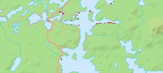 milfoil map 2013 week 6