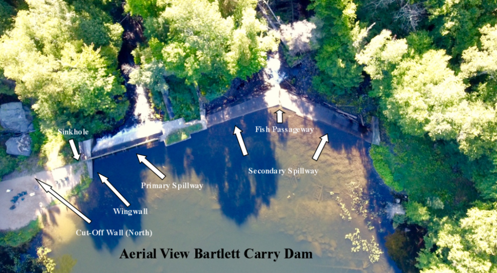 An Update on the Bartlett Carry Dam (1, no credit)