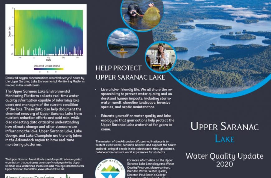 2020 Water Quality Update released